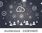 network concept vector design | Shutterstock .eps vector #232814605