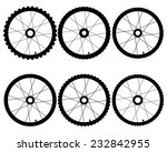 Different Bicycle Wheels On A...