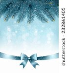 christmas background with... | Shutterstock .eps vector #232861405