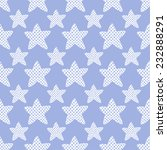 seamless pattern with stars.... | Shutterstock .eps vector #232888291