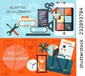 icons for adaptive development... | Shutterstock .eps vector #232893784