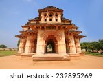 hampi lotus mahal  travel photo | Shutterstock . vector #232895269
