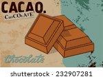 Vintage Chocolate Poster Desig...