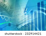 financial graph on a monitor | Shutterstock . vector #232914421