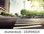 street  in shanghai lujiazui... | Shutterstock . vector #232934215