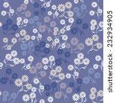seamless floral pattern   Shutterstock .eps vector #232934905
