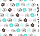 vector seamless pattern with... | Shutterstock .eps vector #232941025