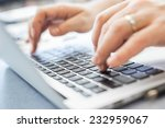businessman working in his... | Shutterstock . vector #232959067