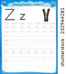 writing practice letter z ...