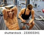 sport  fitness  lifestyle ... | Shutterstock . vector #233003341