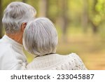 portrait of a mature couple in... | Shutterstock . vector #233045887