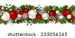 vector christmas horizontal... | Shutterstock .eps vector #233056165