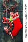 Christmas Stocking And Handmad...