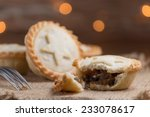 Mince Pie With Out Of Focus...