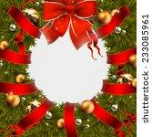 christmas design | Shutterstock .eps vector #233085961