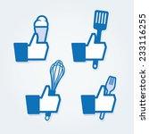 cooking thumbs up | Shutterstock .eps vector #233116255