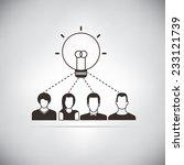 brainstorming | Shutterstock .eps vector #233121739