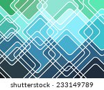 abstract geometric mosaic... | Shutterstock .eps vector #233149789