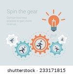 flat style modern effective... | Shutterstock .eps vector #233171815