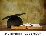 book and background graduation | Shutterstock . vector #233175097
