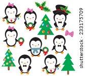 penguin vector illustration | Shutterstock .eps vector #233175709