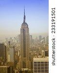 new york   april 14  empire... | Shutterstock . vector #233191501