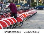 barcelona  spain   october 29 ... | Shutterstock . vector #233205319