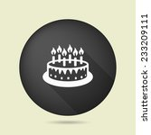pictograph of cake | Shutterstock .eps vector #233209111