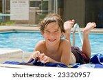 little boy having fun at the... | Shutterstock . vector #23320957