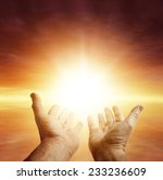 hands reaching for the sky | Shutterstock . vector #233236609