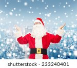 christmas  holidays and people... | Shutterstock . vector #233240401