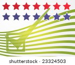 stars and stripes voting | Shutterstock . vector #23324503