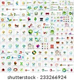 logo mega collection  abstract... | Shutterstock .eps vector #233266924