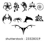 tattoo designs | Shutterstock .eps vector #23328319