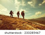 hiking group | Shutterstock . vector #233285467