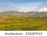 green field background mountain | Shutterstock . vector #233287915