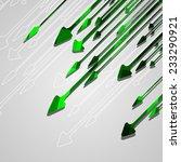 arrow design background ... | Shutterstock .eps vector #233290921