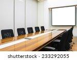 interior conference room ... | Shutterstock . vector #233292055