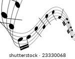 musical notes | Shutterstock .eps vector #23330068