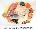 food high in protein isolated... | Shutterstock . vector #233300935