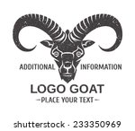 mountain goat   the symbol... | Shutterstock .eps vector #233350969