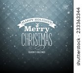 christmas illustration   Shutterstock .eps vector #233363344