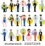 cartoon characters of different ... | Shutterstock .eps vector #233372245