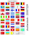 flags of all europe states | Shutterstock .eps vector #23337229