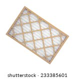 a new cardboard  wire mesh and... | Shutterstock . vector #233385601