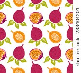 seamless pattern with... | Shutterstock .eps vector #233404201