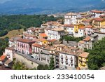 panoramic view of viggianello.... | Shutterstock . vector #233410054