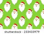 santa claus seamless pattern | Shutterstock .eps vector #233433979