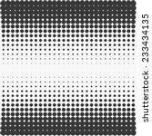vector halftone texture. | Shutterstock .eps vector #233434135