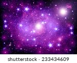 stars of a planet and galaxy in ...   Shutterstock . vector #233434609